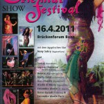 Affiche Festival Aladin Bonn 2011