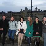 Groupe à Londres