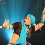 yasmina tribal bleu