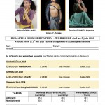 WORKSHOPS 1 au 3 juin 2018