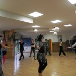 workshop bellyhoop avec Valentina des USA
